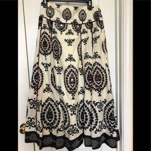 Soft Surroundings Maxi Skirt Size M